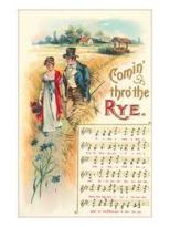 Comin thro the rye