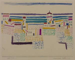 Seaside Resort in the South of France 1927 by Paul Klee 1879-1940