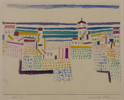 Seaside Resort in the South of France 1927 by Paul Klee 1879-1940