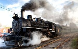 Engine-Steam-Train-Vehicles-Locomotives-Track-Smoke-Wheels-Old-Retro-Classic-Wallpaperswide