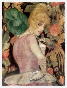 Portrait of Lili Elbe by Gerda Wegener