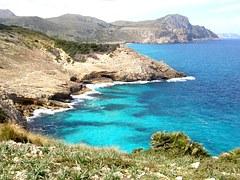 Mallorca coast. Photo credit Pixabay.com