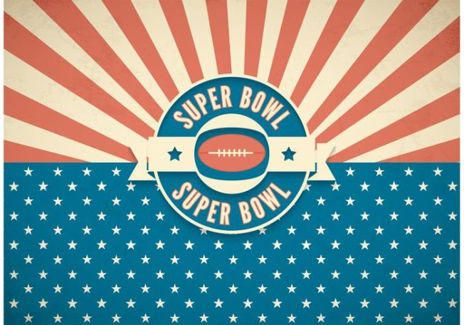 free-super-bowl-retro-vector-background