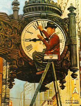Rockwell clock
