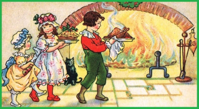 children-in-front-of-fire-with-food
