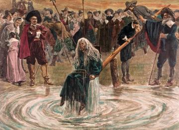 The Duckingstool by Charles Stanley Reinhart