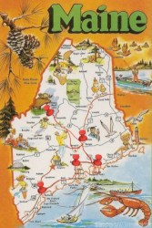 Maine-Map-Itinerary